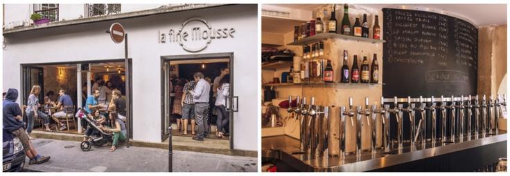Le bar parisien La Fine Mousse est un temple pour tous les amoureux de la bière !