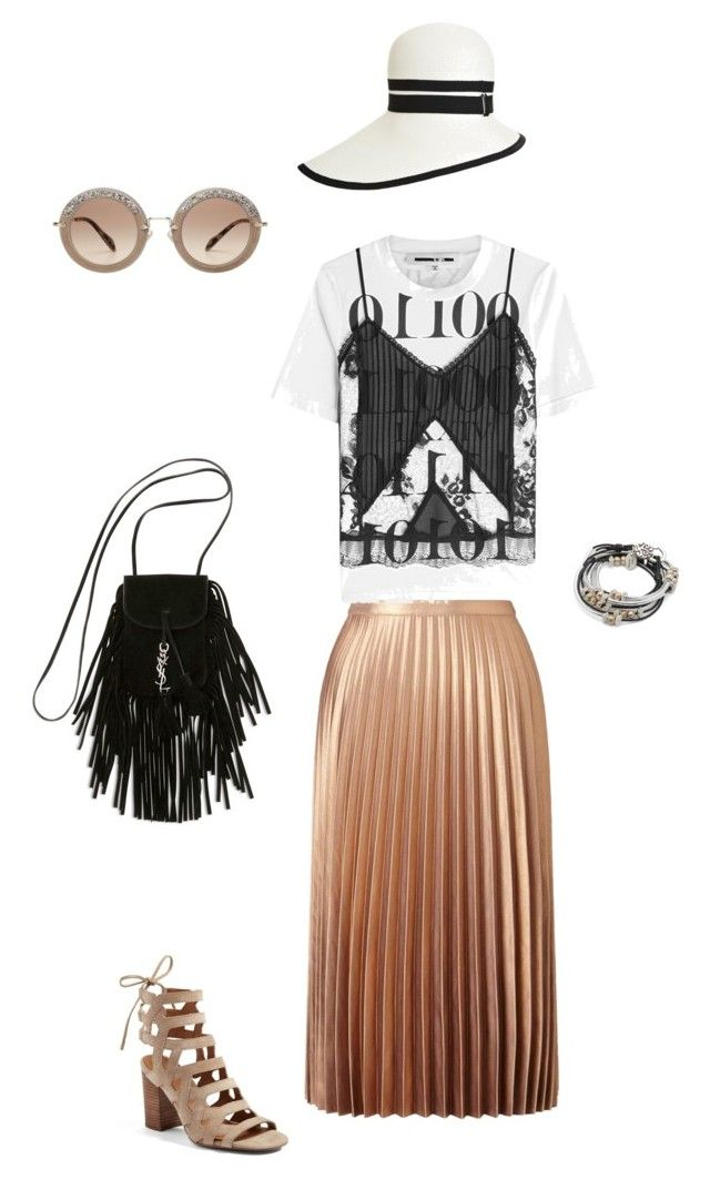 Set 4 by elena230-1 on Polyvore featuring мода, McQ by Alexander McQueen, Miss Selfridge, Franco Sarto, Yves Saint Laurent, Lizzy James and Miu Miu