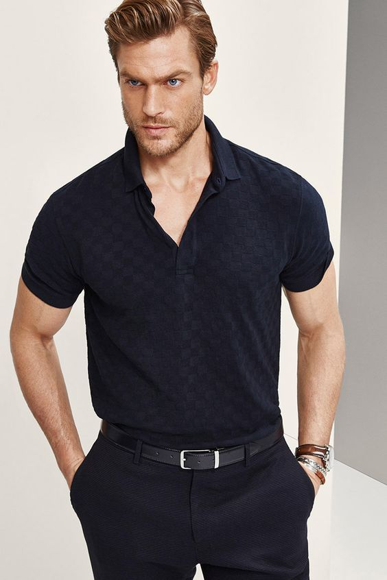 Buy men polo shirts Zalando, Topman, BOSS, Ralph Lauren, free daily personalized curated style advice, menswear fashion trend must-have