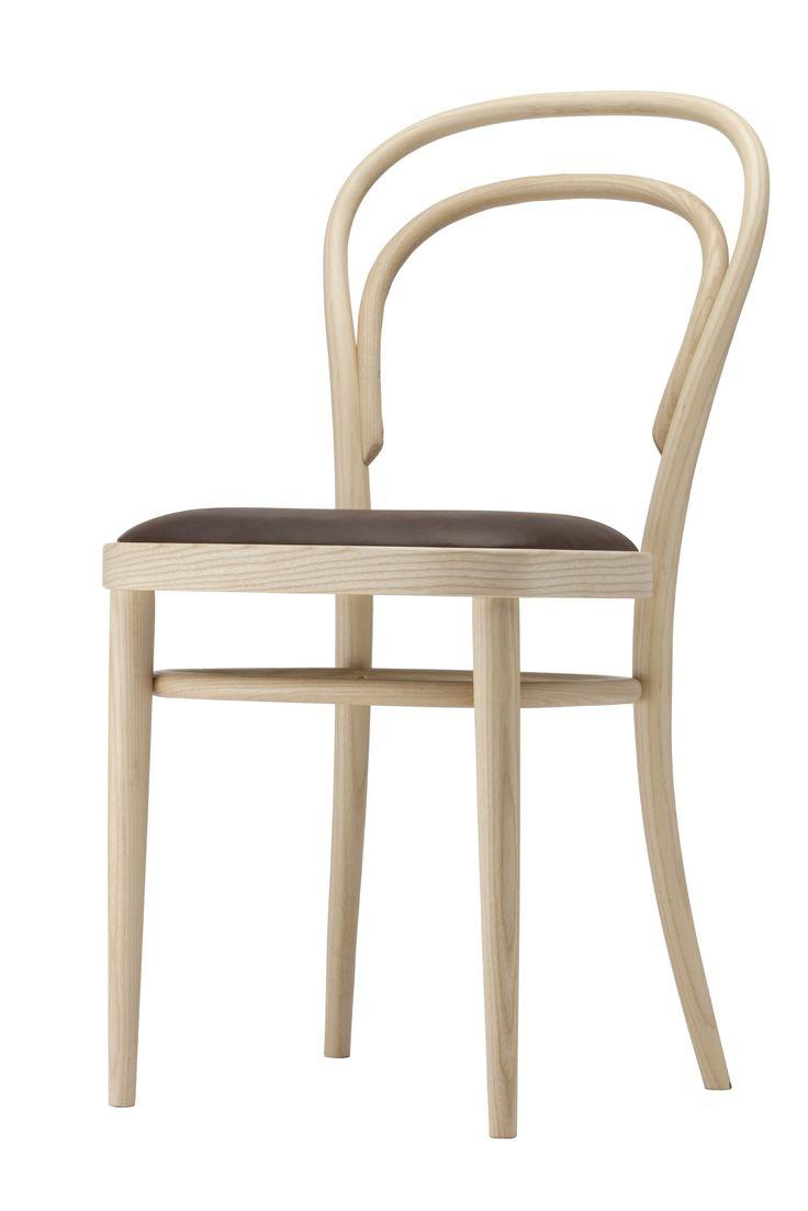 Thonet 214 berühmter Kaffeehaus Stuhl in Pure Materials-Ausführung - InteriorPark.