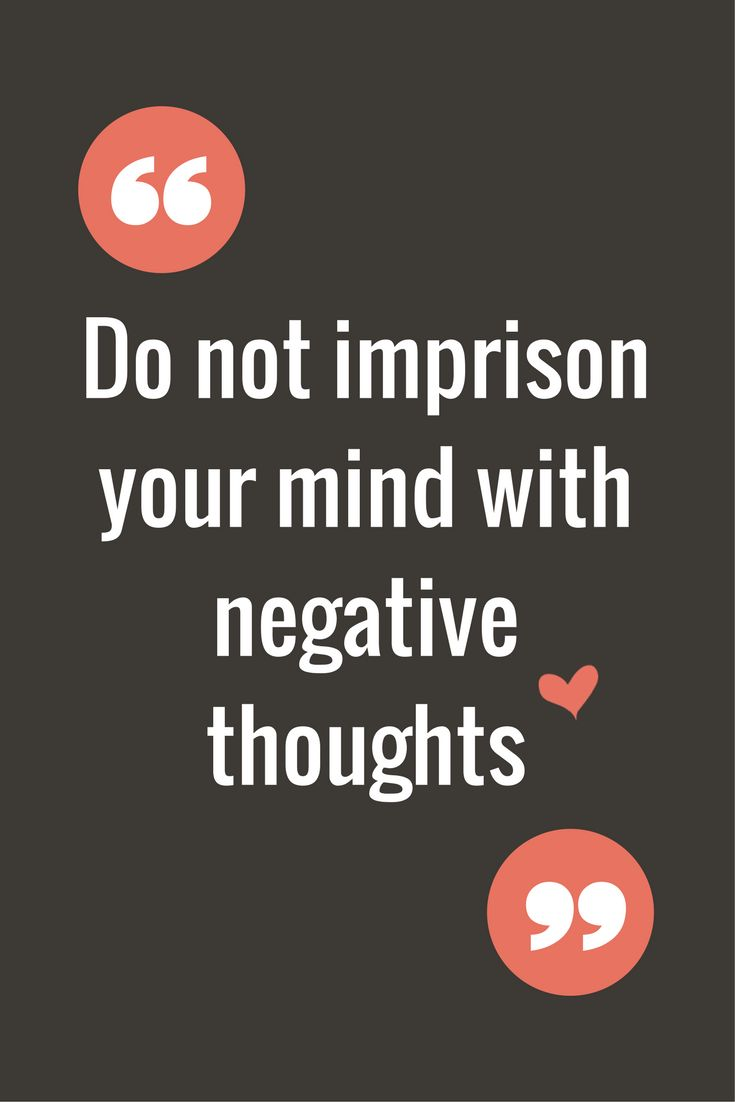 Stop Negative Thinking. Quote. | This Kathryn Girl