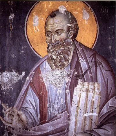 St. Paul,Εμμανουήλ  Πανσέληνος,14ος αιώνας.