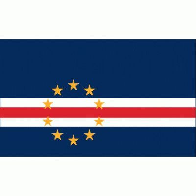 NeoPlex Cape Verde Country Traditional Flag