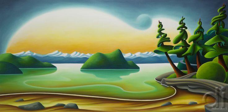 Porteau Cove, by Dana Irving