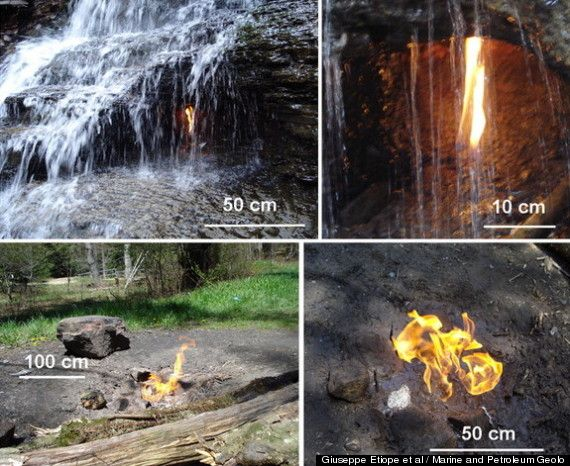Eternal Flame At Chestnut Ridge Park In Western New York Fed By New Gas Source, Study Reports