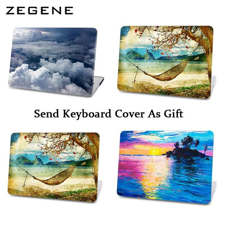 Sky cloud Retro artist Hard case For Apple Macbook Air 11 12 13 cover For Macbook Pro 13 15 Retina