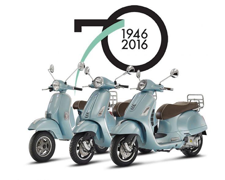 Rayakan 70 Tahun Kehadirannya, Vespa Settantesimo Resmi Dirilis - http://bintangotomotif.com/rayakan-70-tahun-kehadirannya-vespa-settantesimo-resmi-dirilis/