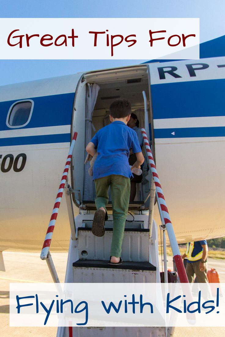 We travel A LOT with our three young children. Here's how we make flying with kids the easiest part of the vacation.
