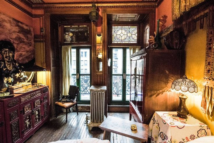 Suzanne Lipschutz Chelsea Hotel Apartment From New York