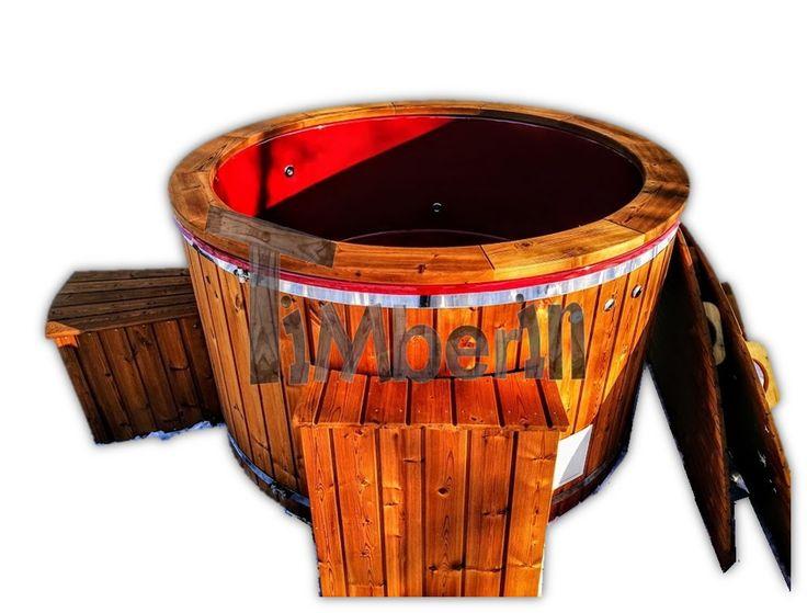 Hot Tub Vetroresina Con Riscaldatore Elettrico TimberIN Main