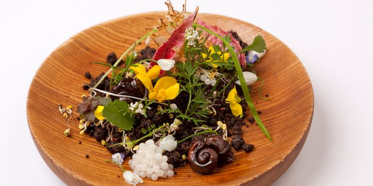 Phil Fanning shares his spectacular 'snail garden' recipe, complete with braised snails, 'dirt' and snail caviar
