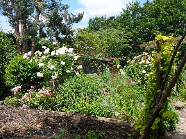 Garden at Hackney City Farm in London: http://www.europealacarte.co.uk/blog/2015/01/15/hackney-city-farm-in-london/