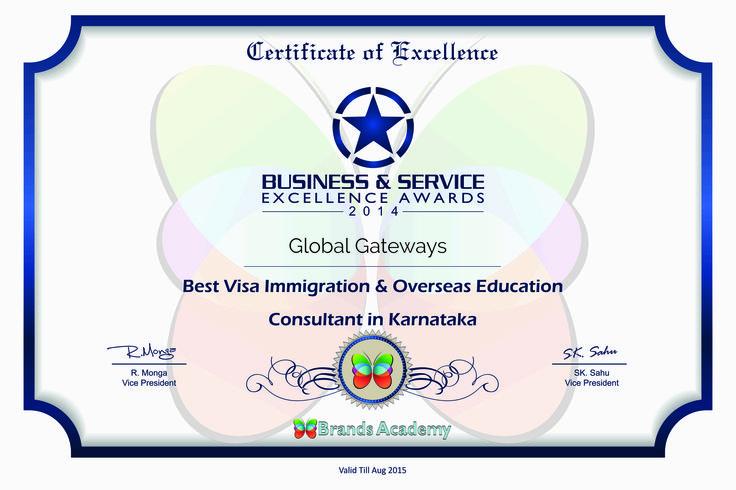 Globalgateways visa consultancy Bangalore