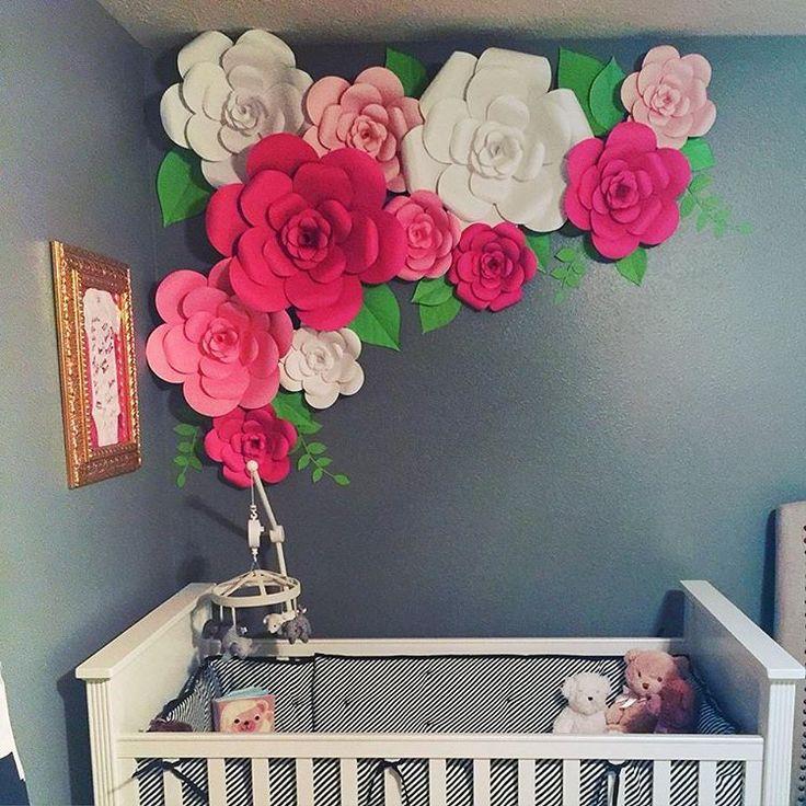 1000 ideias sobre flores de papel gigantes no pinterest - Papeles de decoracion ...