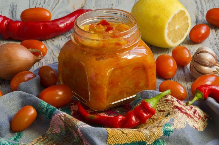 Кисло-сладкий соус из черри с лимоном и чили. Пошаговый рецепт с фото - Ботаничка.ru