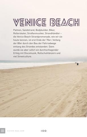 Reisen in den USA: Venice Beach.
