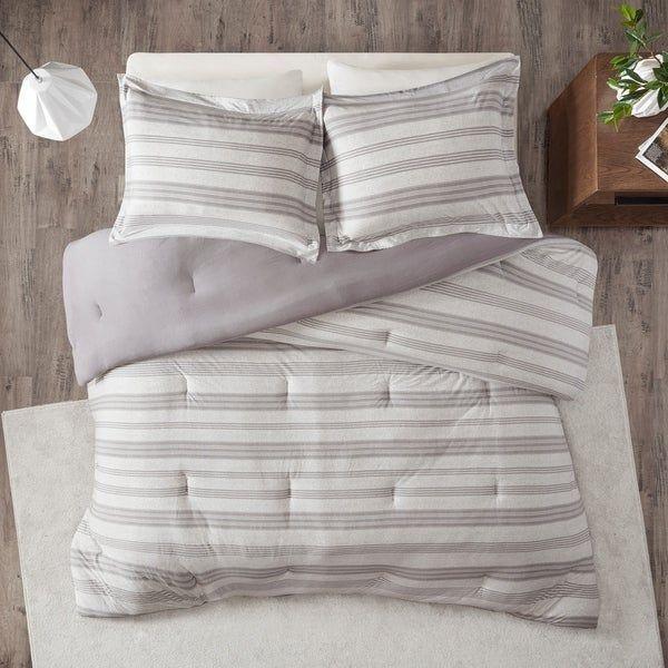 Urban Habitat Mason Stripe Print Ultra Soft Cotton Blend Jersey