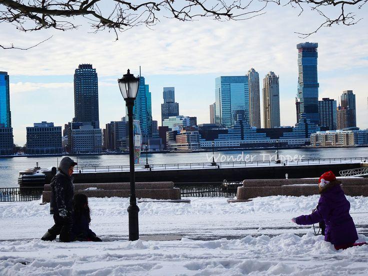 New York City Snowstorm Jonas. The Aftermath | Wonder Tripper