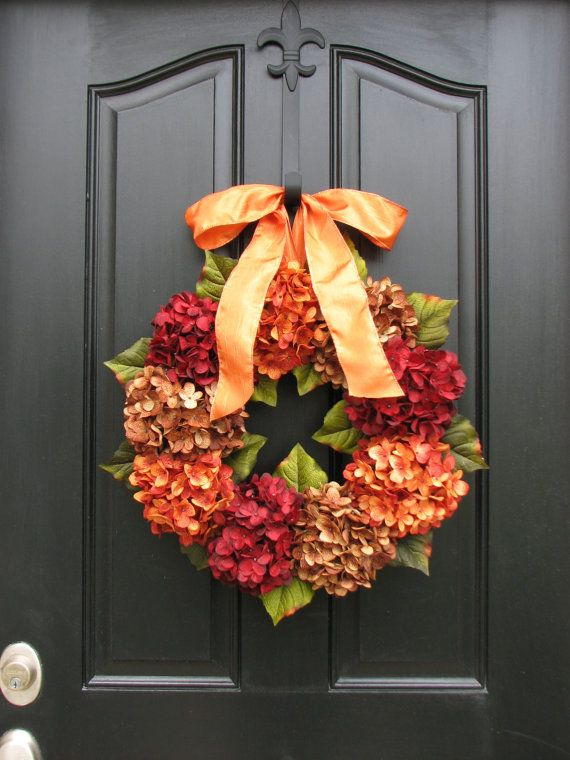 Fall Wreaths, NEW Fall Design for 2013, 15 Percent Coupon, WREATHS, Autumn Wreaths, FALL Decor, Front Door Wreaths, Fall Harvest