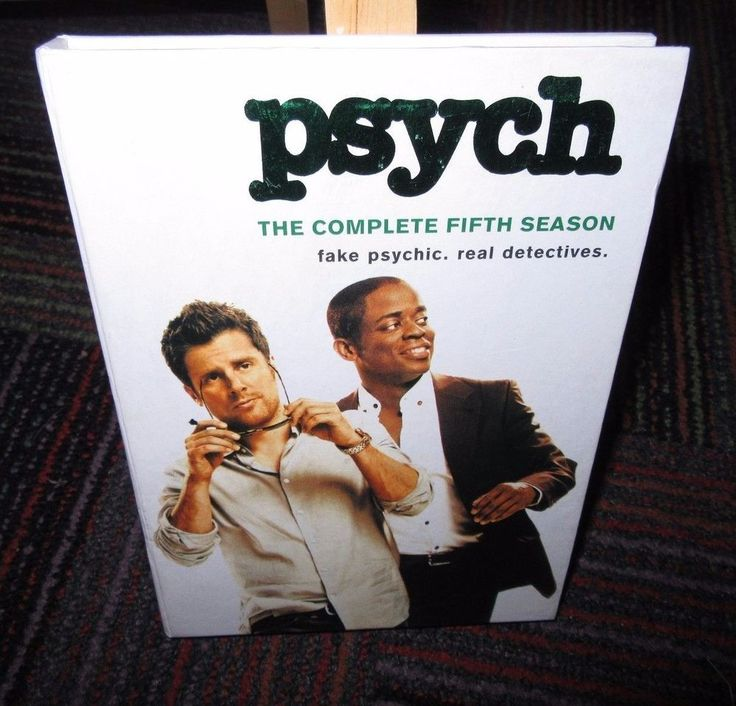 PSYCH: THE COMPLETE FIFTH SEASON 4-DISC DVD SET, FAKE PSYCHIC, REAL DETECTIVES