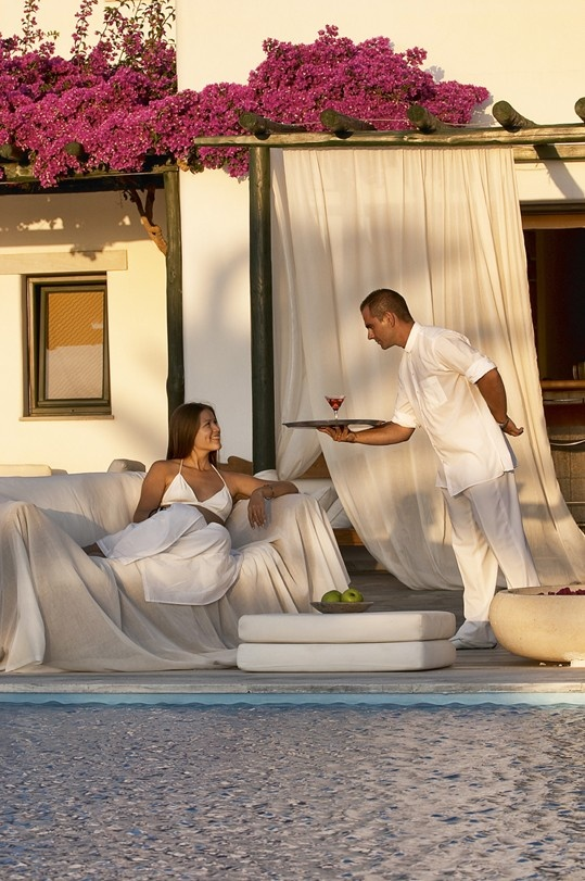 Experience impeccable service, tailored to your special needs and desires by the dedicated personnel at the Yria Resort & Spa Paros.