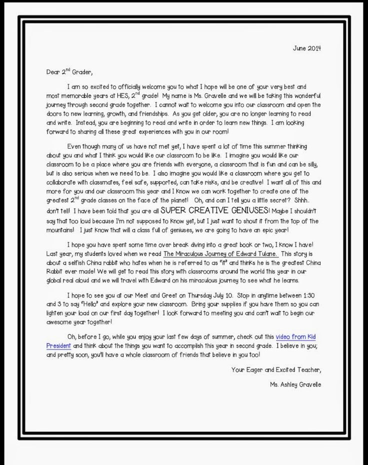 Best  Classroom Welcome Letter Ideas On   Parent
