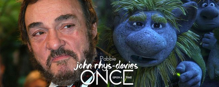 John Rhys-Davies as Pabbie. As a huge LOTR fan, you can't even imagine how excited I am about this!