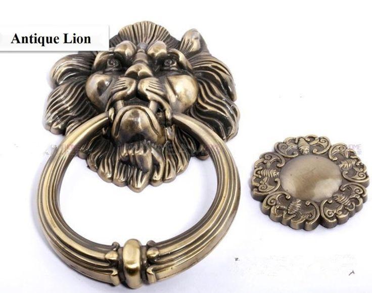 Checkout this new stunning item   12cm Antique Lion single hole doorknocker/ door knob/ door pull - US $12.26 http://onlinehomegarden.com/products/12cm-antique-lion-single-hole-doorknocker-door-knob-door-pull/