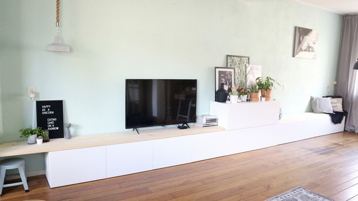 Ikea Besta Hack Ikea Diy Tv Meubel Tv Kast Eetbank Zitbank