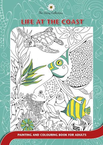 The Daisy Collection - Colouring Books for Adults- Life at the Coast