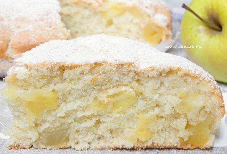 Torta di Mele Soffice | Senza Uova, Senza Burro, Senza Latte