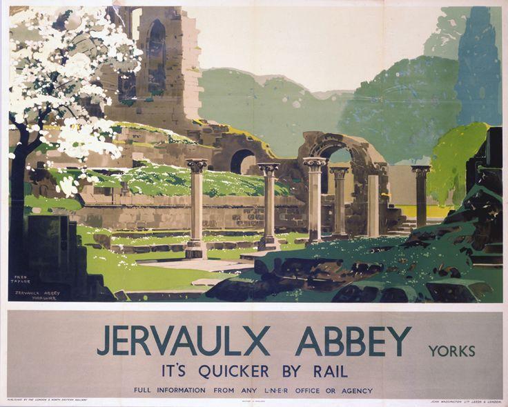 Jervaulx Abbey - 1933 - Fred Taylor