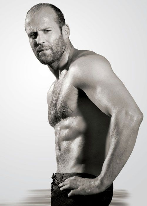 If you are an older guy, Jason Statham is the guy's body you want. Well shit.. I guess any age you would want his body, if you were a guy!