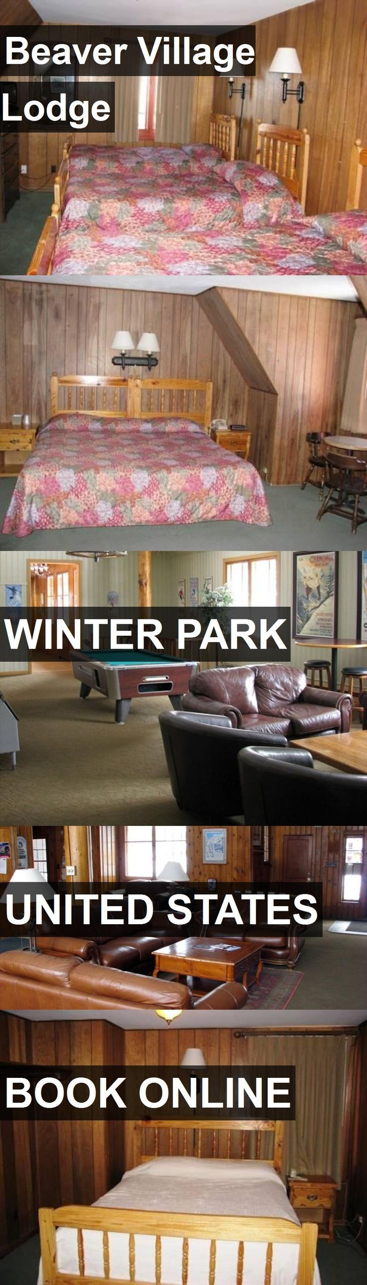 Hotel Beaver Village Lodge in Winter Park, United States. For more information, photos, reviews and best prices please follow the link. #UnitedStates #WinterPark #BeaverVillageLodge #hotel #travel #vacation