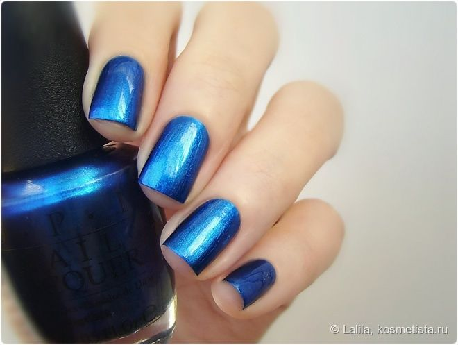Синий атлас - OPI Nail Polish St. Mark's the Spot
