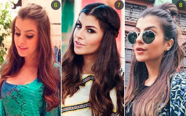 10 penteados rápidos e fáceis da Nah Cardoso para você se inspirar - Beleza - CAPRICHO