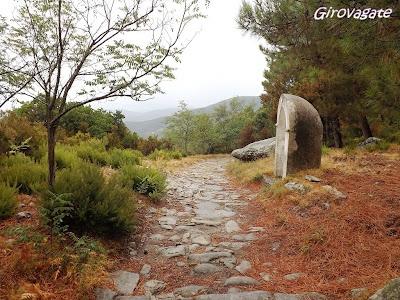 """Marciana, towards """"Madonna del Monte"""" Sanctuary"""
