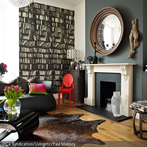die besten 25 b cherregale rund ums kamin ideen auf pinterest regale rund um kamin. Black Bedroom Furniture Sets. Home Design Ideas