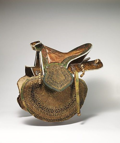 Saddle. Turkey, 16th century. The Metropolitan Museum of Art16Th Century, Horses Saddles, Leather Art, Saddles Turkey, Turkish Saddles, Historical Leather, Metropolitan Museums, 1500S Turkish, Saddles 16Th
