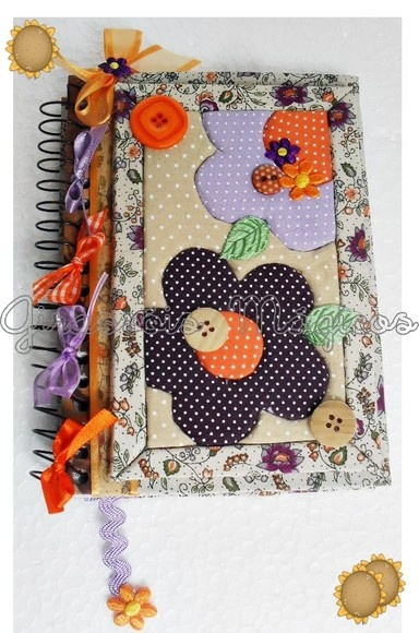 Agendas. Altered notebook.  Notebook. Cuaderno decorado. Libro alterado. Book.