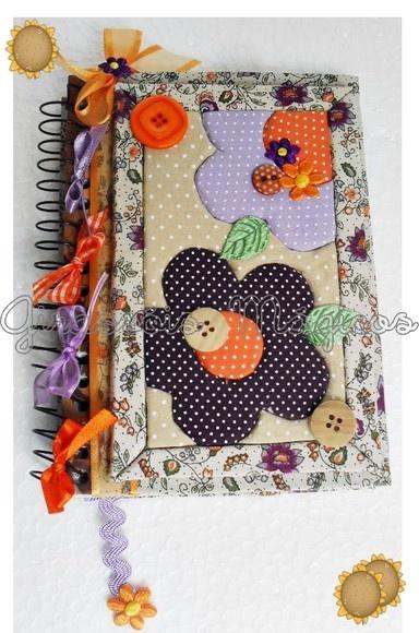 Agendas. Altered notebook.  Notebook. Cuaderno decorado. Libro alterado. Book.