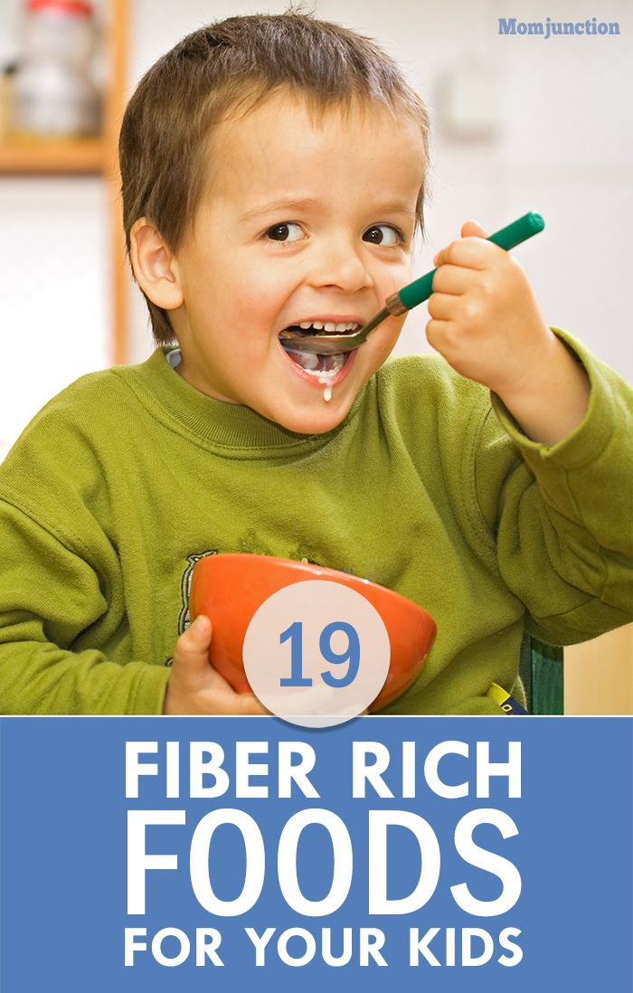 19 Best Fiber Rich Foods For Your Kids:Here, we talk about what fiber is, some fiber-rich foods, their benefits, and how to include these foods in your little one's diet.