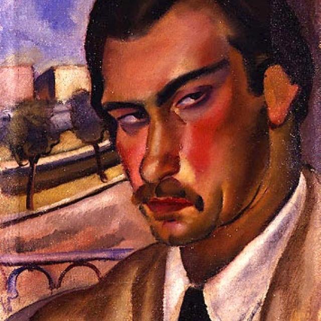 Mario Mafai, Autoritratto