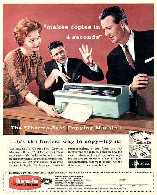 Thermo-Fax (1950s).