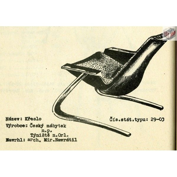 Chair Type 29-03, M. Navrátil