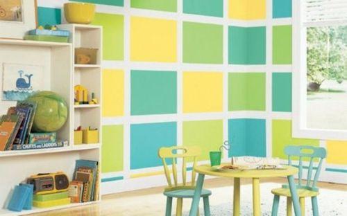 Kinderzimmer Wandgestaltung Anleitung : fürs kinderzimmer kinderzimmer streichen oder wie kann man diesen