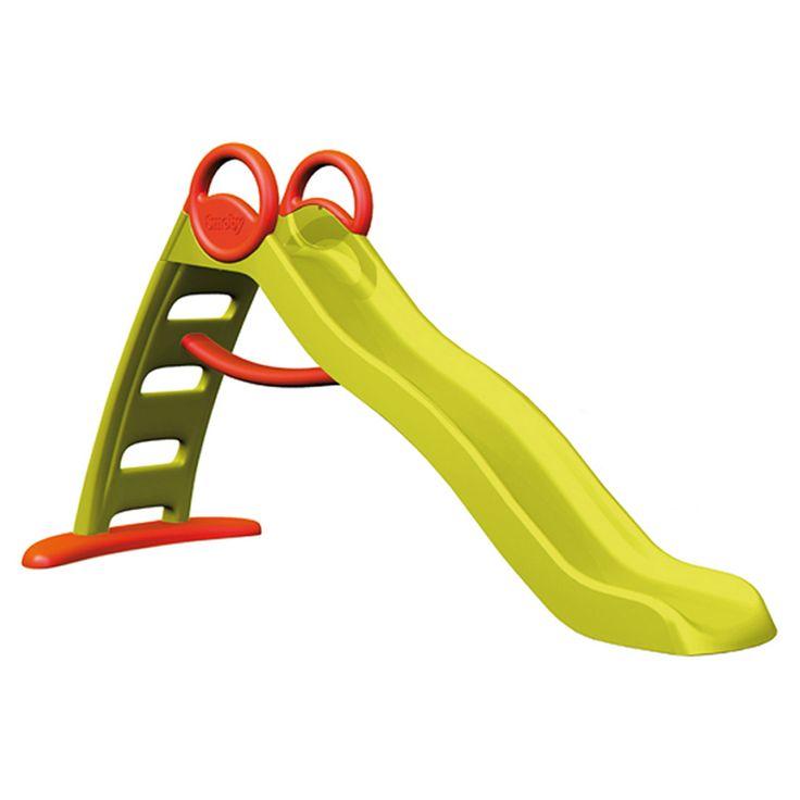 Toboggan Funny gliss Smoby pour enfant de 2 ans à 8 ans - Oxybul éveil et jeux