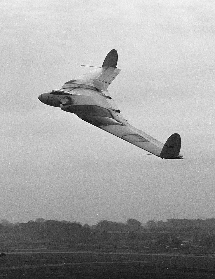 The Armstrong Whitworth AW.52 prototype was a twin-jet research aircraft for a proposed flying wing airliner under development by the company. First flying on 13 November 1947 the thing was operating well beyond the known frontiers of industry knowledge, in an era of rapid progress. On 30 May 1949 the aircraft was diving at 320 mph (515 kph) when a violent pitch oscillation developed. With control surfaces unresponsive the test pilot ejected, marking the first 'live' emergency use of a…