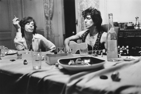 Keith and Mick by Dominique Tarle