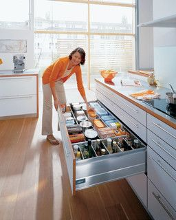 Blum kitchen accessories-storage drawer - contemporary - cabinet and drawer organizers - Tarek El-sallab company